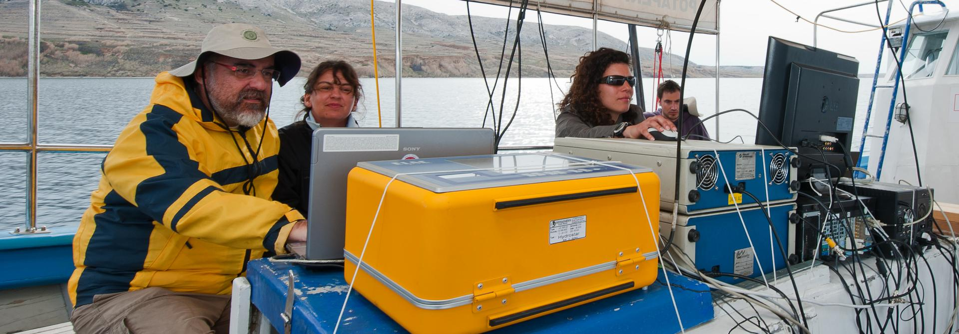 Gulf of Pag-The results of the geophysical survey allow the reconstruction of the process of formation of the Gulf of Pag, and reveal some positions of potential archaeological interest. (Photo: Giulia Boetto)